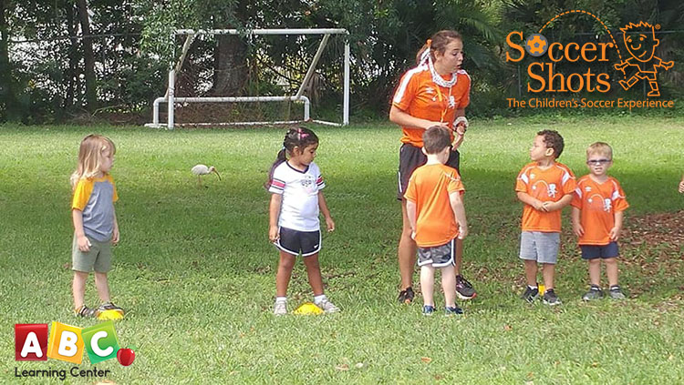 Soccer Shots at ABC Learning Center